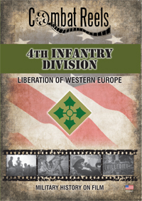 4th Infantry Division in Western Europe DVD $19.99