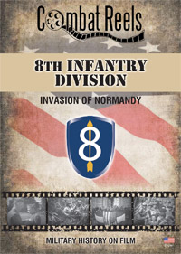 8th US Infantry Division in Normandy DVD $14.99